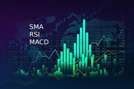 كيفية توصيل SMA و RSI و MACD لاستراتيجية تداول ناجحة في Olymp Trade