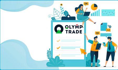 كيفية تسجيل الدخول والتحقق من الحساب في Olymp Trade