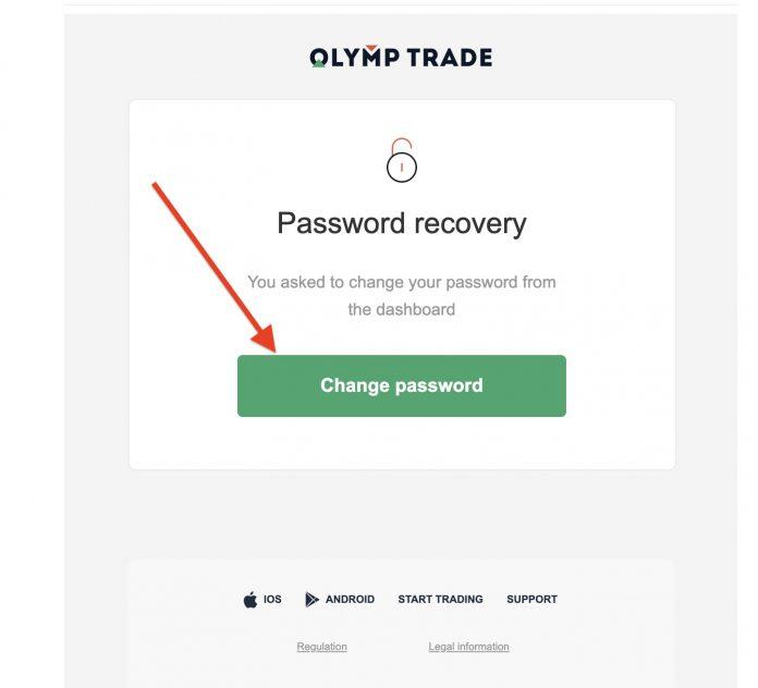 هل نسيت كلمة المرور الخاصة بي على Olymp Trade؟ كيفية استعادته